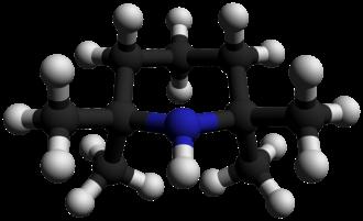 2,2,6,6-Tetramethylpiperidine - Image: 2,2,6,6 Tetramethylpiperidin e 3D balls by AHRLS 2012