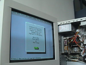 Free Pascal - The Free Pascal IDE for Linux. The computer was being prepared for use in the 2002 National Olympiad in Informatics, China
