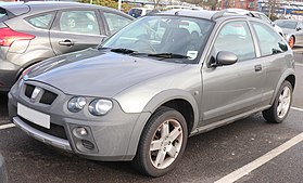 2004 Rover Streetwise S 1.4 Front.jpg
