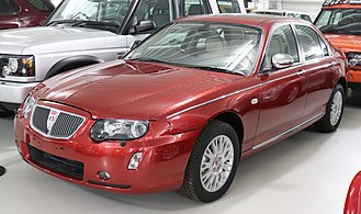 Rover 75 - The last production Rover 75 model, a CDTi Connoisseur, 2005