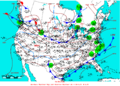 2006-02-23 Surface Weather Map NOAA.png