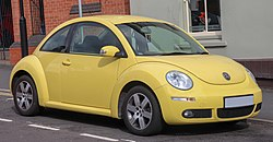 2006 Volkswagen New Beetle coupe (UK)