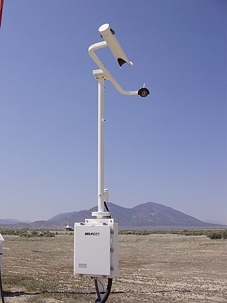 Automated airport weather station - ASOS Visibility sensor