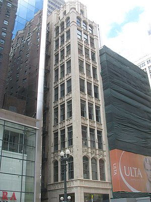 Singer Building (Chicago) - Image: 20080703 Singer Building