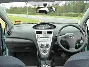Toyota Belta   Image: 2009 Toyota Yaris (NCP93R) YRX Sedan (2010 11