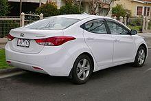 Hyundai Elantra Elite Australia Pre Facelift