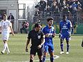 2013-03-03 Match Brest-OL - Said Ennjimi + Clément Grenier.JPG