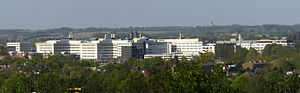 Maastricht University - Campus Randwyck, seen from Mount Saint Peter