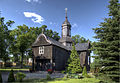 20130707 24707 8 9 tmEnh Cr=Łomnica - drewniany kosciół z 1770 r.jpg