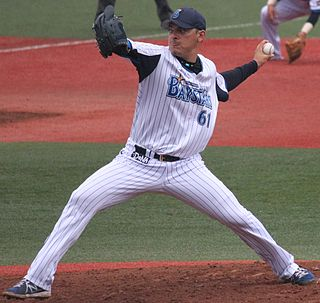 20140505 Enyelbert Noriel Soto, pitcher of the Yokohama DeNA BayStars, at Yokosuka Stadium.JPG
