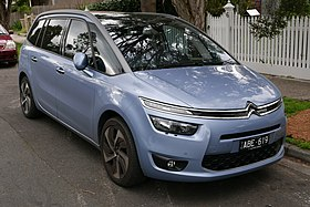 2014 Citroën Grand C4 Picasso (B7) Exclusive van (2015-06-25) 01.jpg