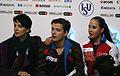 2014 ISU Junior Grand Prix Final Daria Morozova Mikhail Zhirnov Irina Zhuk IMG 1650.JPG