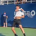 2015 US Open Tennis - Qualies - Jose Hernandez-Fernandez (DOM) def. Jonathan Eysseric (FRA) (20780399209).jpg