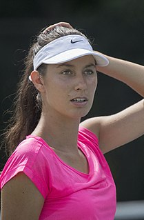 Océane Dodin French tennis player
