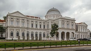 National Museum of Singapore - Image: 2016 Singapur, Museum Planning Area, Narodowe Muzeum Singapuru (02)