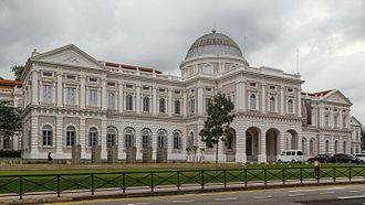 National Museum of Singapore - Image: 2016 Singapur, Museum Planning Area, Narodowe Muzeum Singapuru (02)