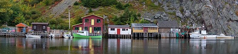 2017-10-03 02 The Gut Harbor at Quidi Vidi, St. John's, NL Canada.jpg