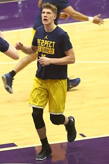 786cec3c4218 Moritz Wagner (basketball) - Wagner for the 2016–17 Michigan Wolverines