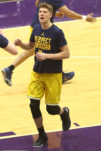 Moritz Wagner (basketball) - Wagner for the 2016–17 Michigan Wolverines
