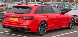 2018 Audi RS4 TFSi Quattro Automatic 2.9 Rear.jpg