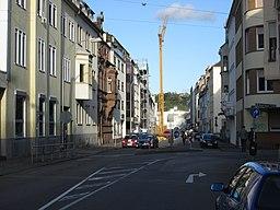 Ursulinenstraße in Saarbrücken