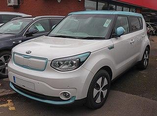 Kia Soul EV electric car model