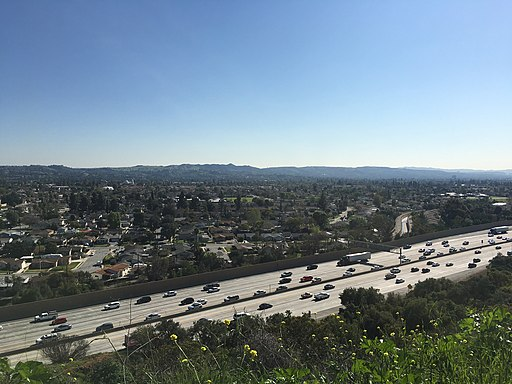 210 Freeway through Glendora