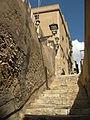 292 Escales d'en Cavaller, al fons el carrer del Vidre.jpg