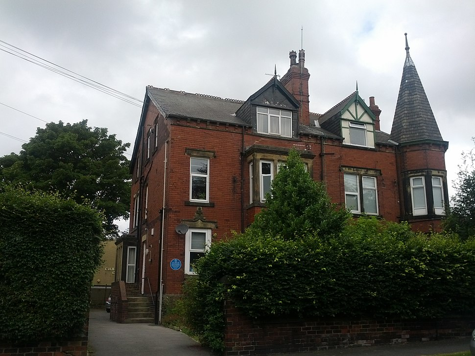 2 Darnley Road, the former home of J.R.R. Tolkien in West Park, Leeds