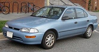 Geo (automobile) - 1993-1997 Geo Prizm
