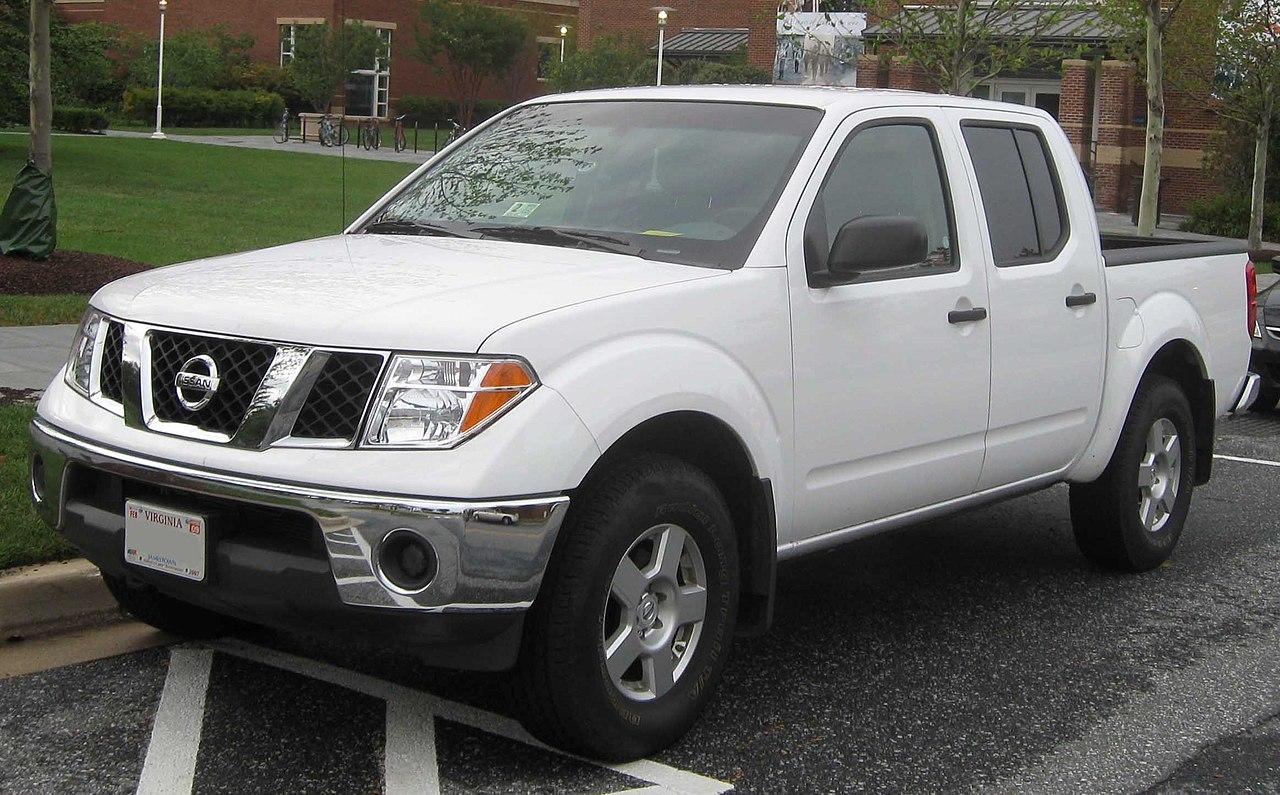 Ficheiro:2nd Nissan Frontier SE Crew Cab