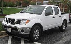 2nd Nissan Frontier SE crew cab.jpg & Nissan Frontier - Wikipedia bahasa Indonesia ensiklopedia bebas
