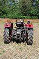 3ème Salon des tracteurs anciens - Moulin de Chiblins - 18082013 - Tracteur Hurlimann D 100 SSP - 1958 - arrière.jpg