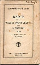 3. Division WK 1926