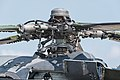3368 Czech Republic Air Force Mil Mi-24V Hind E rotor head ILA Berlin 2016 06.jpg