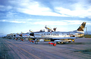 4704th Defense Wing - F-86Ds of the wing's 357th Fighter-Interceptor Squadron