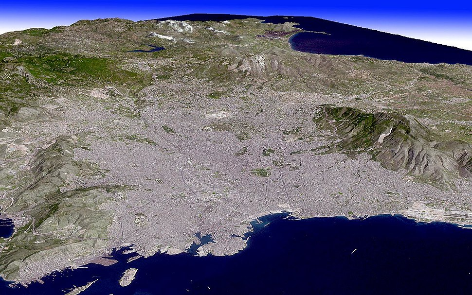 3D View of Athens