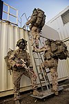 3rd Combat Engineer Regiment soldiers clear a building during exercise Hamel 15.jpg