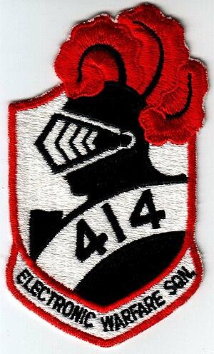 No. 414 Squadron RCAF - Image: 414crest