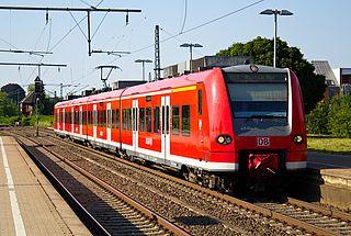 Rheydt Hauptbahnhof railway station in Mönchengladbach, Germany