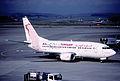 43br - Tunisair Boeing 737-5H3; TS-IOI@ZRH;07.11.1998 (5126180811).jpg