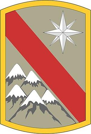 43rd Sustainment Brigade - 43rd Sustainment Brigade shoulder sleeve insignia