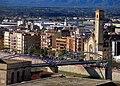495 Pont de l'Estat i església del Roser (Tortosa), des de la Suda.JPG