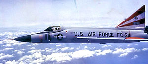 86th Air Division - 86th Air Division, 526th Fighter-Interceptor Squadron F-102A Delta Dagger - 56-1211 about 1965