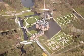 De Haar Castle - The castle seen from the air