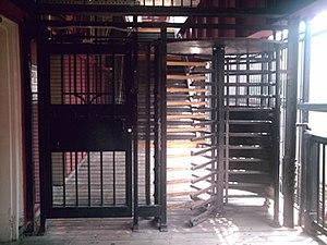 79th Street (BMT West End Line) - Former exit-only turnstile