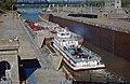 87j077 Brimstone exiting 600-foot lock at McAlpine (7522732570).jpg