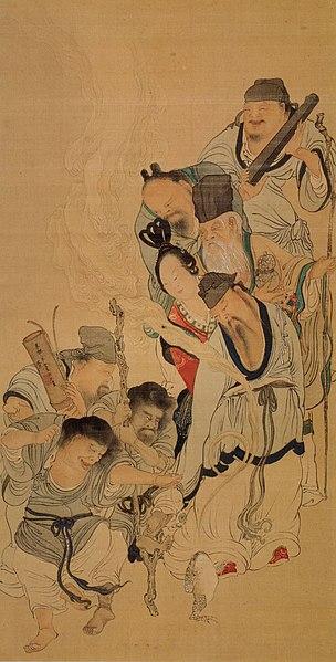File:8 daoist immortals by Tani Buncho.jpg