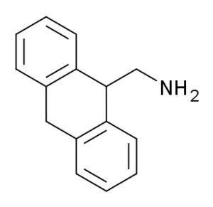 9-Aminomethyl-9,10-dihydroanthracene - Image: 9 Aminomethyl 9,10 dihydroanthracene