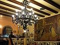 90 Can Culleretes, interior, mural de Francesc Tey.JPG